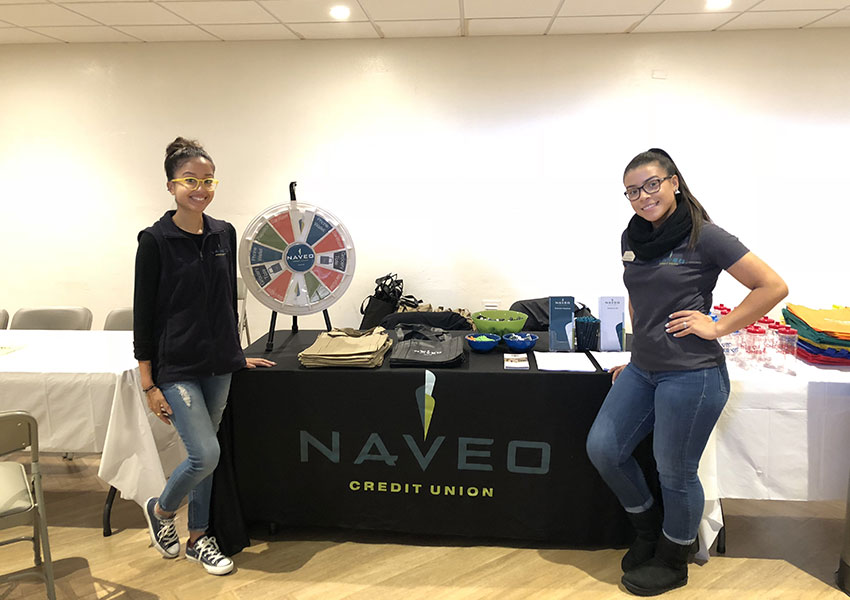 Community Involvement Naveo Credit Union