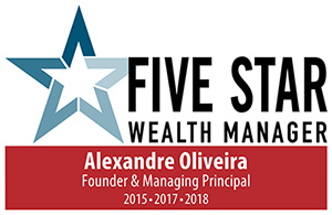 Alex's Five Star Wealth Manager award